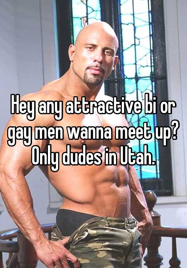 How to meet bi men